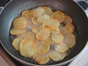Parmesanlı Patates Kızartması