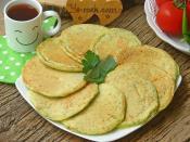Ispanaklı Peynirli Kahvaltılık Pofuduk Pankek