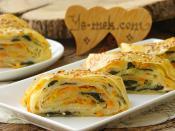 Üç Renkli Sebzeli Börek