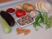 Enginar Çanağında Etli Türlü Yemeği