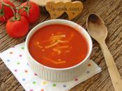 Erişteli Domates Çorbası