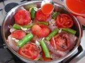Tencerede Sebzeli Tavuk Yemeği