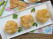 Baklavalık Yufkadan Porsiyonluk Peynirli Börek