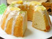 Limon Soslu Limonlu Kek