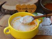 Sütlü Ovmaç Çorbası