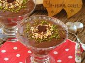 Ev Yapımı Çikolatalı Puding