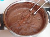 Çikolatalı Yaş Pasta Kreması