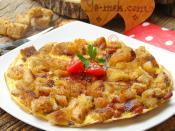 Kıtır Ekmekli Omlet