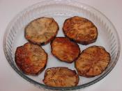 Fırında Patlıcan Oturtma