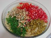 Narlı Bulgurlu Tabule Salatası