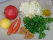 Narlı Beyaz Lahana Salatası