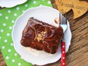 Ebruli Çikolatalı Pasta