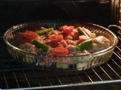 Fırında Patlıcanlı Tavuk İncik