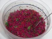 Kırmızı Pancarlı Kısır