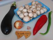 Patlıcanlı Mantar Sote