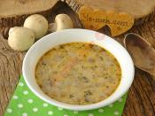 Yoğurtlu Mantar Çorbası
