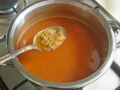 Kıymalı Bulgur Çorbası