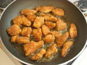 Tavada Galeta Unlu Tavuk Kızartması
