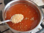 Kıymalı Mercimek Çorbası