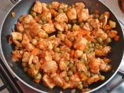 Tavuklu Talaş Kebabı