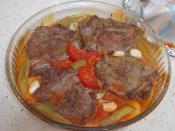Fırında Salçalı Et Yemeği