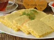 Peynirli Dereotlu Mısır Ekmeği