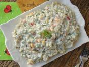 Yoğurtlu Buğday Salatası