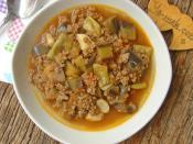 Kıymalı Patlıcan Yemeği