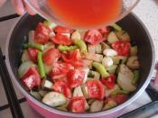 Tencerede Etli Patlıcan Yemeği