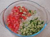 Soğanlı Patlıcan Salatası