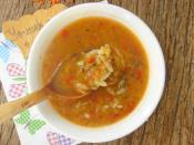 Arpa Şehriyeli Kırmızı Mercimek Çorbası
