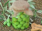 Çizik Yeşil Zeytin
