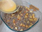 Fırında Kıymalı Yumurtalı Patates