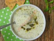Yoğurtlu Kuskus Çorbası