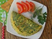 Maydanozlu Dereotlu Omlet