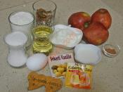 Sıvı Yağlı Elmalı Kurabiye