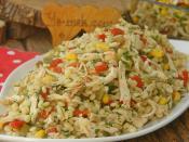 Tavuklu Kuskus Salatası