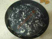 Fırında Peynirli Pırasa