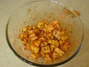 Fırında Salçalı Patates Kızartması