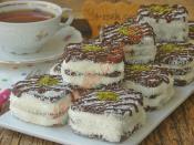Bisküvili Porsiyonluk Pasta