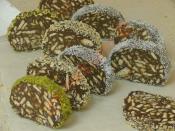 Çikolatalı Mozaik Pasta