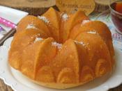 Hindistan Cevizli Limonlu Kek