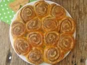 Haşhaşlı Rulo Çörek