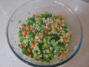 Şehriyeli Brokoli Salatası