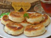 Tavada Peynirli Gül Böreği