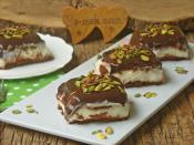 Çikolatalı Muhallebili Pasta