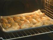 Fırında Soslu Tavuk Kanat