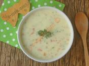Sebzeli Yoğurt Çorbası