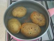 Yoğurtlu Patates Mantısı
