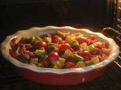Fırında Köfteli Patates Yemeği